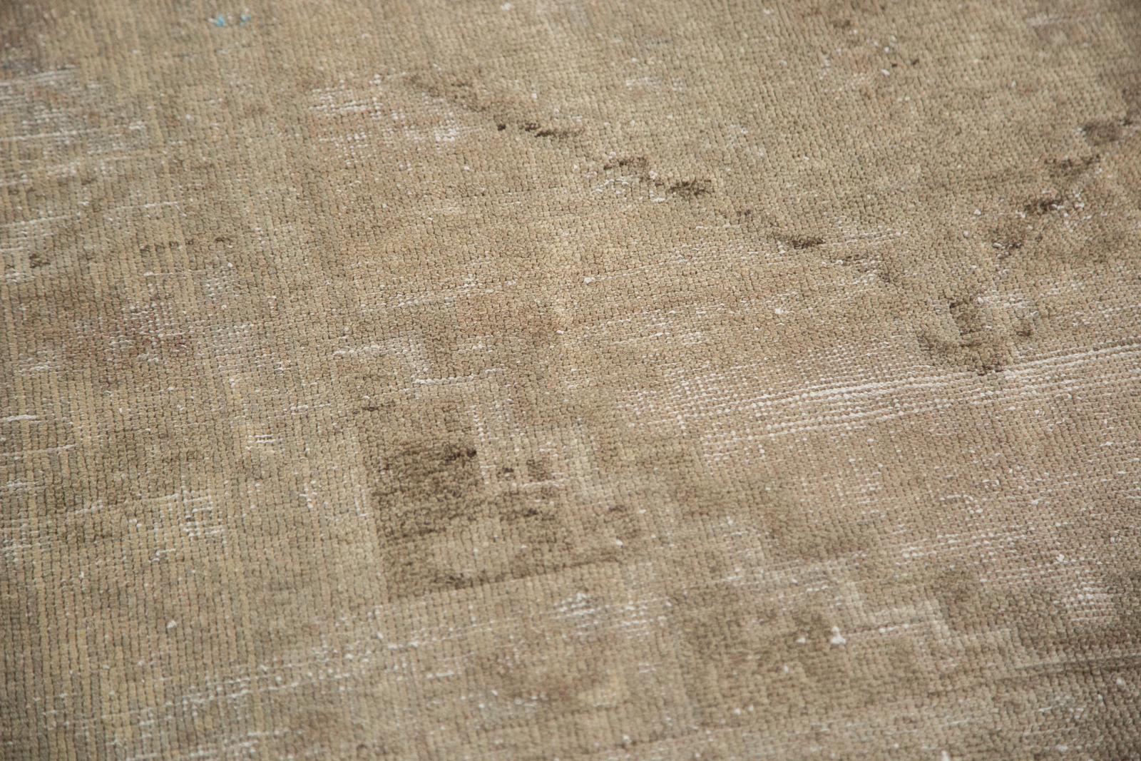 Distressed Oushak Area Rug