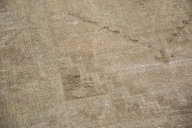 Distressed Oushak Area Rug