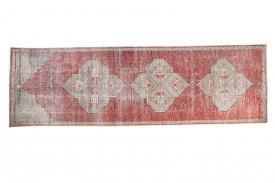 Vintage Oushak Rug Runner
