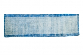 Distressed Blue Runner
