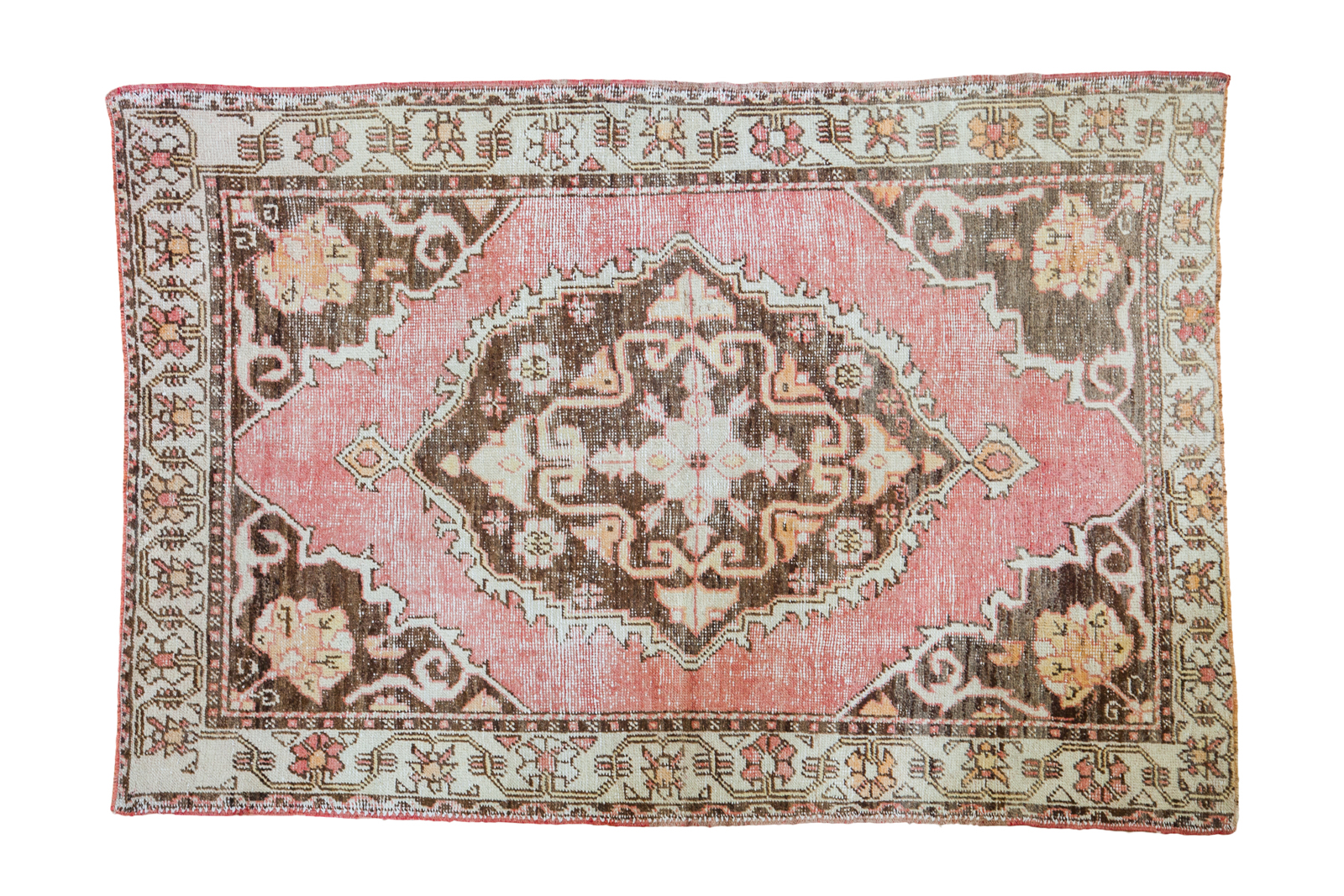 Expressive Oushak Carpet
