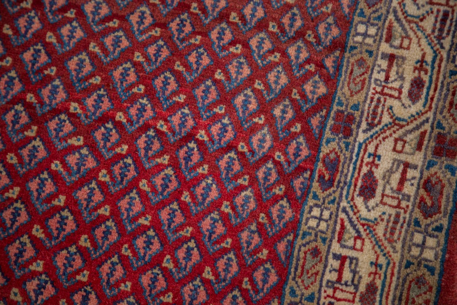 Red Covered Sarouk