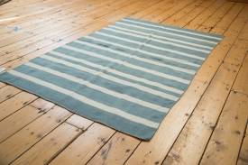 Blue&White Striped Kilim