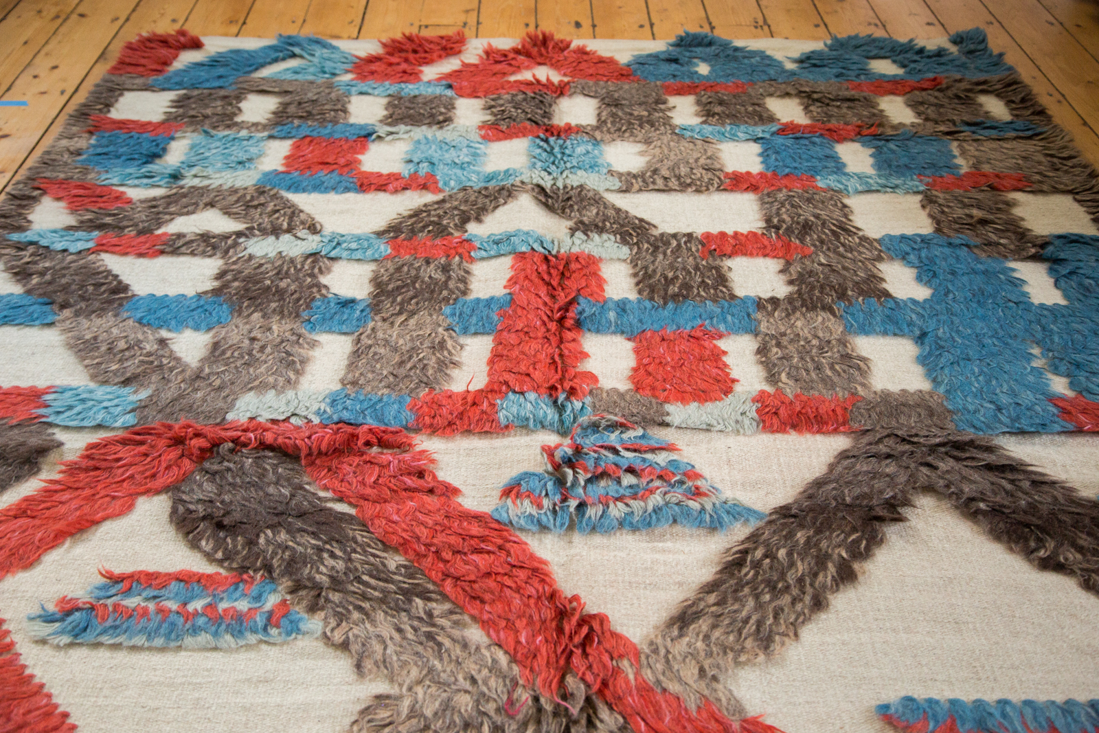 Colorful Moroccan Kilim