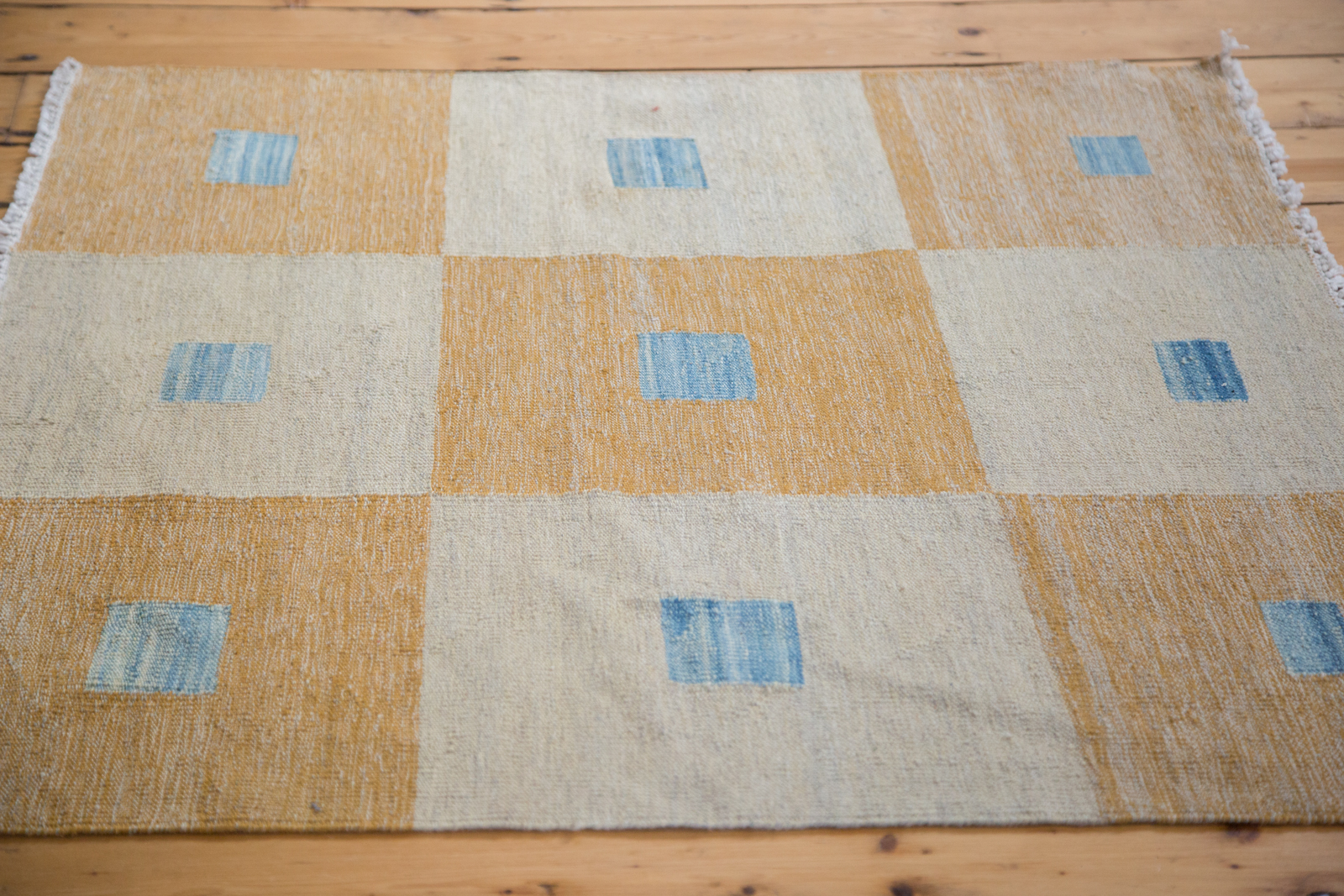 Square Checkered Kilim