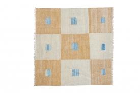 Square Checkered Kilim