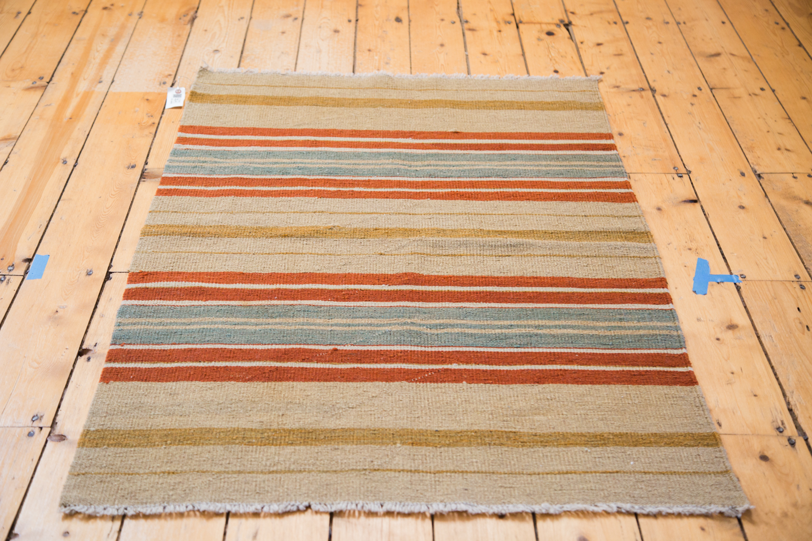 Colorful Striped Kilim
