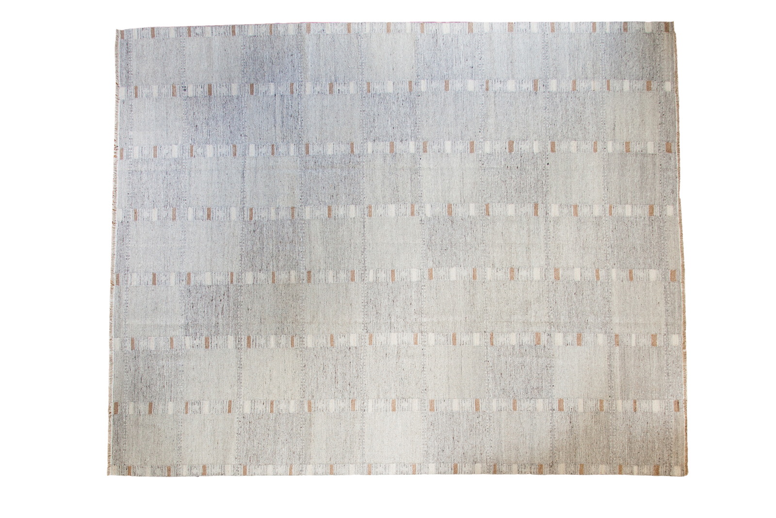 Gray Striped Kilim