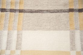 Plaid Kilim Room Rug