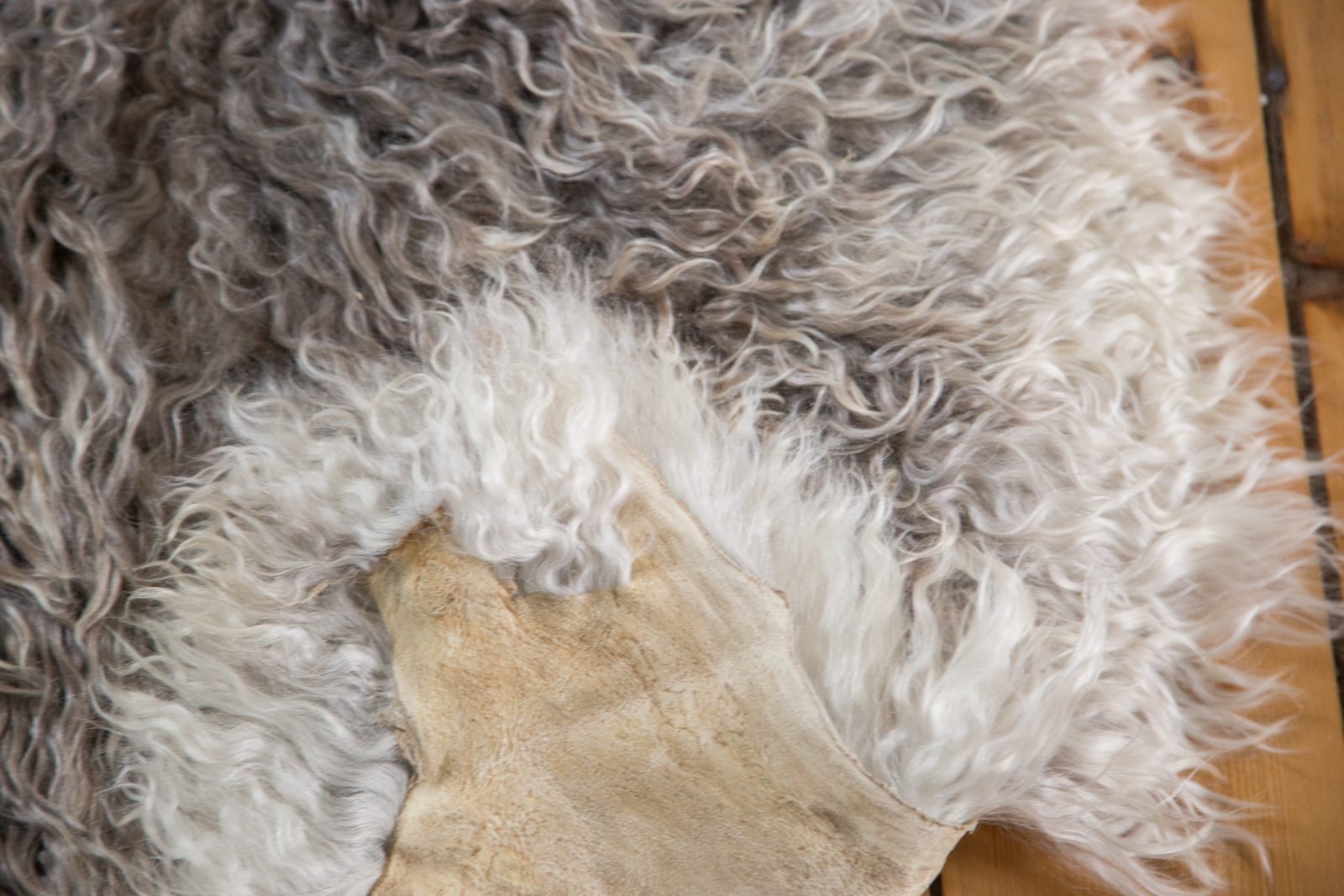 Angora Wool Throw