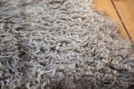 Angora Fur Rug