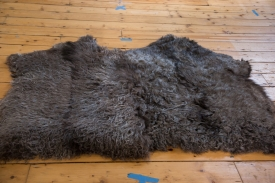Angora Wool Throw