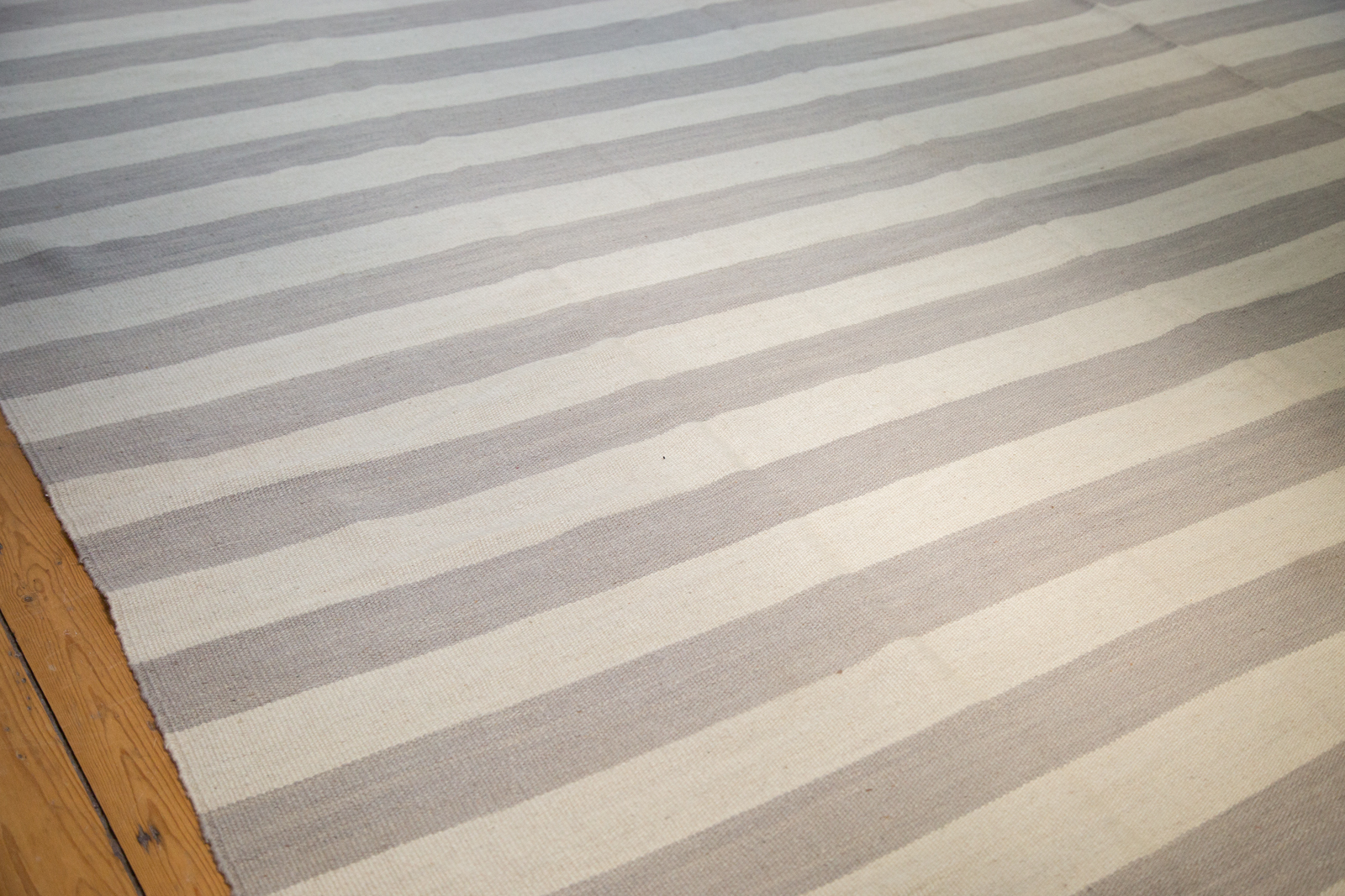 Grey Striped Kilim