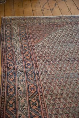 8x11.5 Distressed Farahan Sarouk Carpet