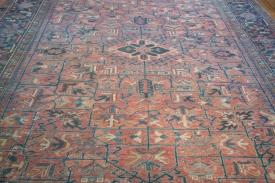 Room Size Vintage Heriz Rug