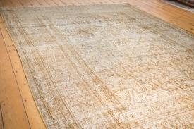 7.5x10.5 Distressed Khorossan Carpet