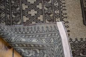 7x10 Vintage Afghani Carpet