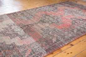 5x12 Distressed Oushak Runner