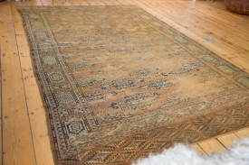 Antique Yomud Area Rug