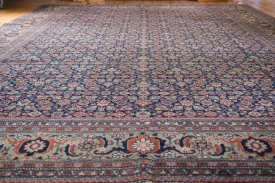 Room Size Vintage Persian Rug