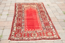 Red Turkish Carpet