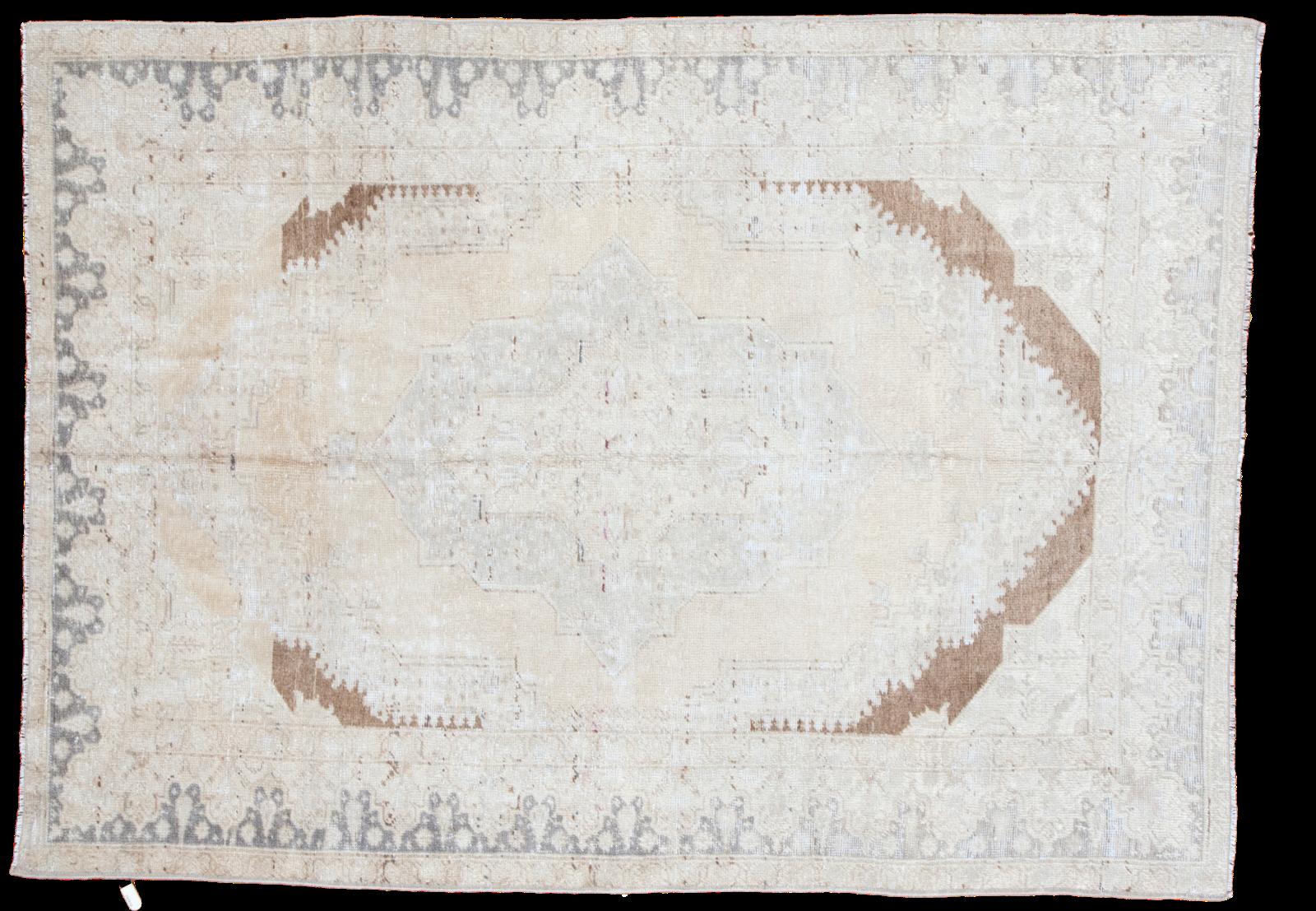 Stunning Vintage Oushak Carpet
