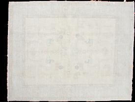 Blanched Oushak Carpet