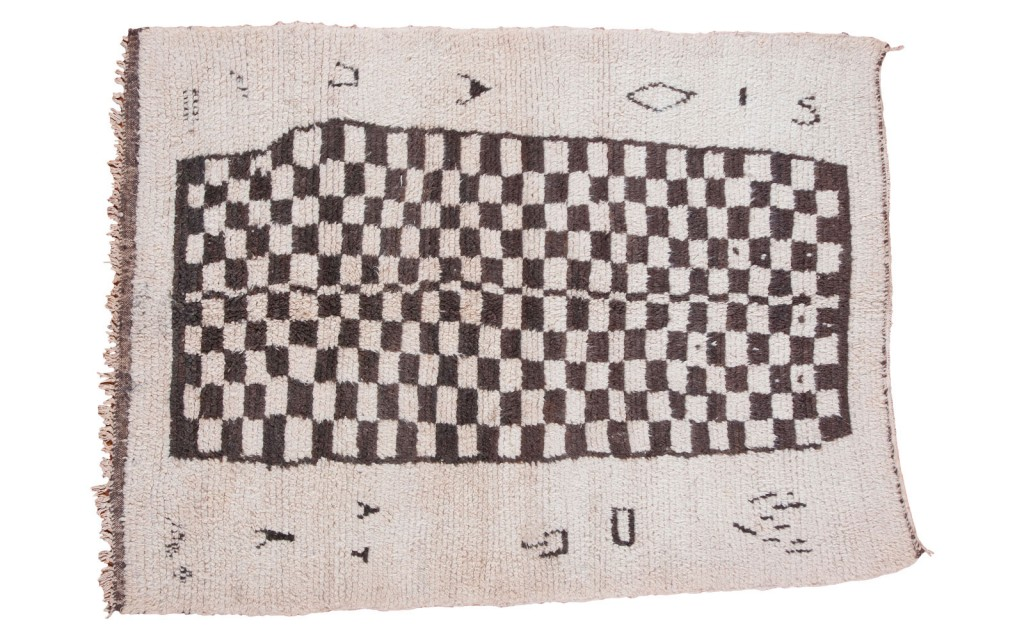 Checker Moroccan Rug