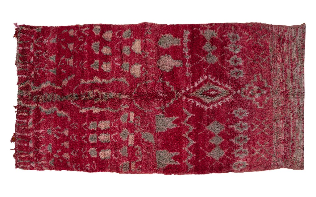 Purple Moroccan Carpet