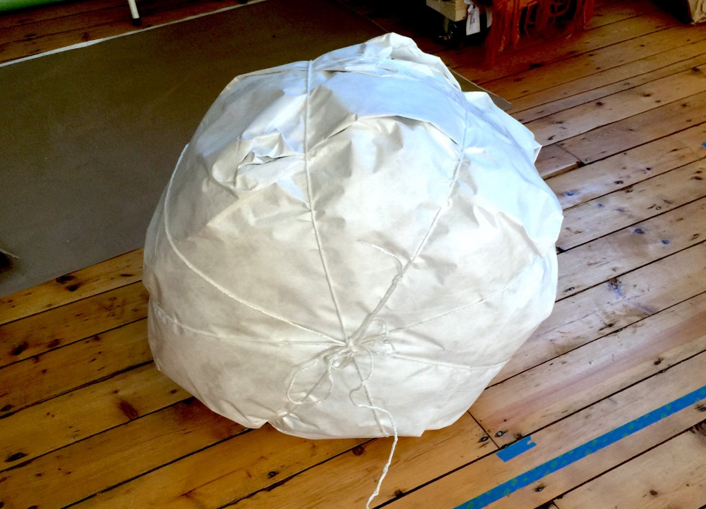 Wrapped Pouf
